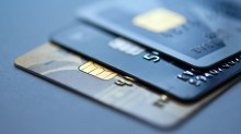 Credit cards image for education only