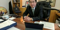 Japanese ambassador to the United Nations in New York - Ishikane Kimihiro (Photo image for education only=