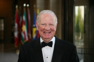 James Baker, former US Secretary of State (Photo by Winstonchurchil.org - for education only)