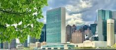 United Nations, spring 2020, under the grim sky (Photo by Erol Avdovic - WebPublicaPress)