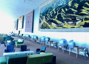 Empty UN delegate lounge at the UN Headquarters in New York - summer 2020 (Photo by Erol Avdovic - WebPublicaPress)