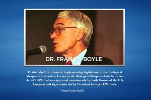 Dr. Francis Boyle from Chicago says Coronavirus is Biological-Warfare-Weapon (Courtesy for education only)