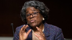 inda Thomas-Greenfield US ambassador to the United Nations New York since February 2021 (Courtesy photo for education only)