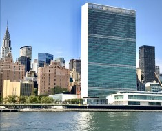 UN Building from the East River (Photo by Erol Avdovic, WebPublicaPress 2019)