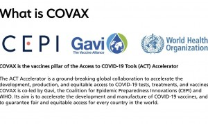 What is COVAX?