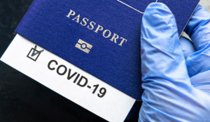 COVID-19 passport or certificate (Photo illustration for education only)