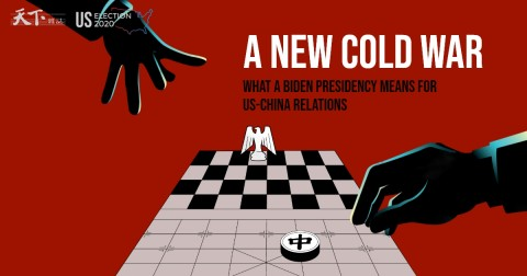 New cold war - US and China predictions (Courtesy photo illustration for education only)
