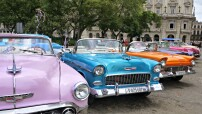 Old cars in Havana (blog photo for education only)