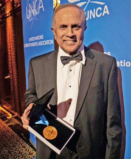 Thalif Deen award winning journalist and veteran UN correspondent; regular contributor for WebPublicaPress (Courtesy photo for education only)