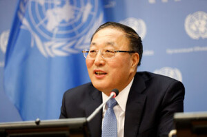 Ambassador Zhang Jun, Permanent Representative of China to the United Nations (UN photo for education only)