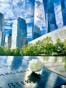 Rose for 9/11 Memorial in New Yor 2021 (Photo by Erol Avdovic)
