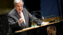 UN Secretary General at UN 76 General Assembly (UN photo)