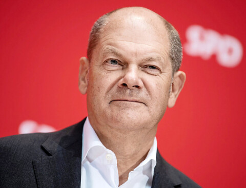Olaf Sholtz future German Chancellor 2021 (Courtesy photo for education only)